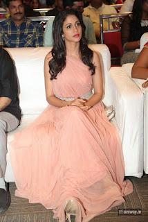 Lavanya Tripathi Stills at Srirastu Subhamastu Pre Release Function