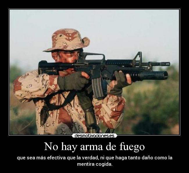 Imagenes de pistolas, revolver  - IMÁGENES CON FRASES
