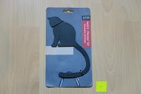 """Verpackung: Hold It – Precoius """"Schwanz, schwarz Metall Katze Balance Aufhänger"""