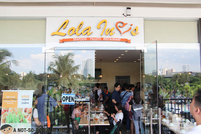 Lola Ina's Seafood Paluto in Seascape Village