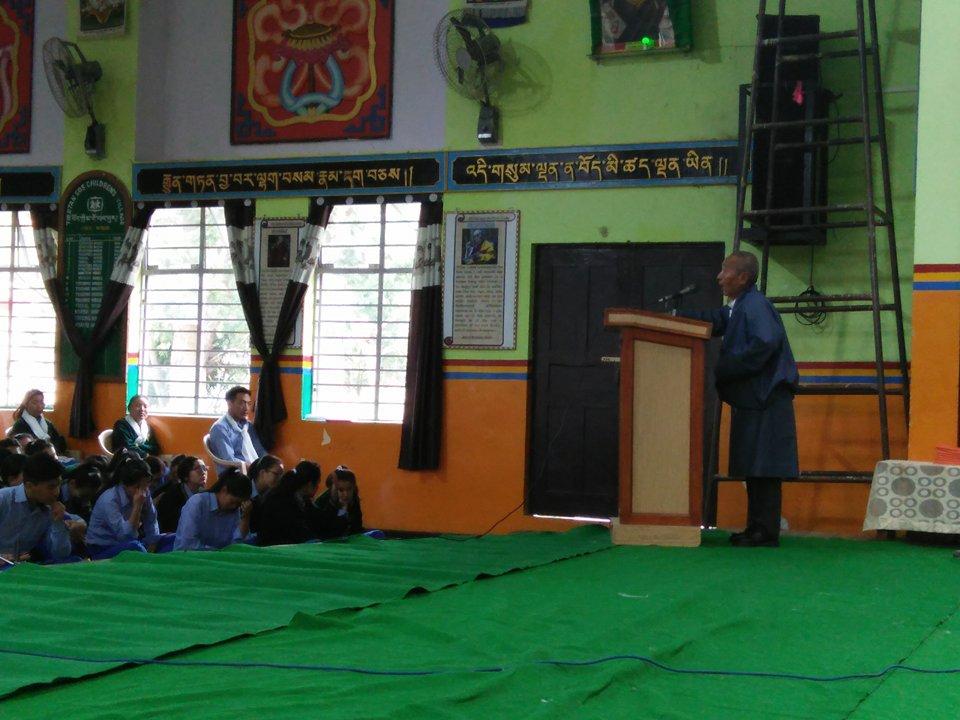 school opening ceremony ~ TCV School Gopalpur