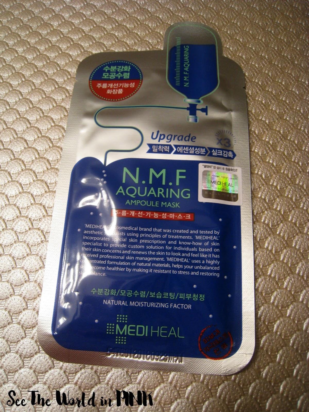 Mediheal N.M.F. Aquaring Ampoule Mask