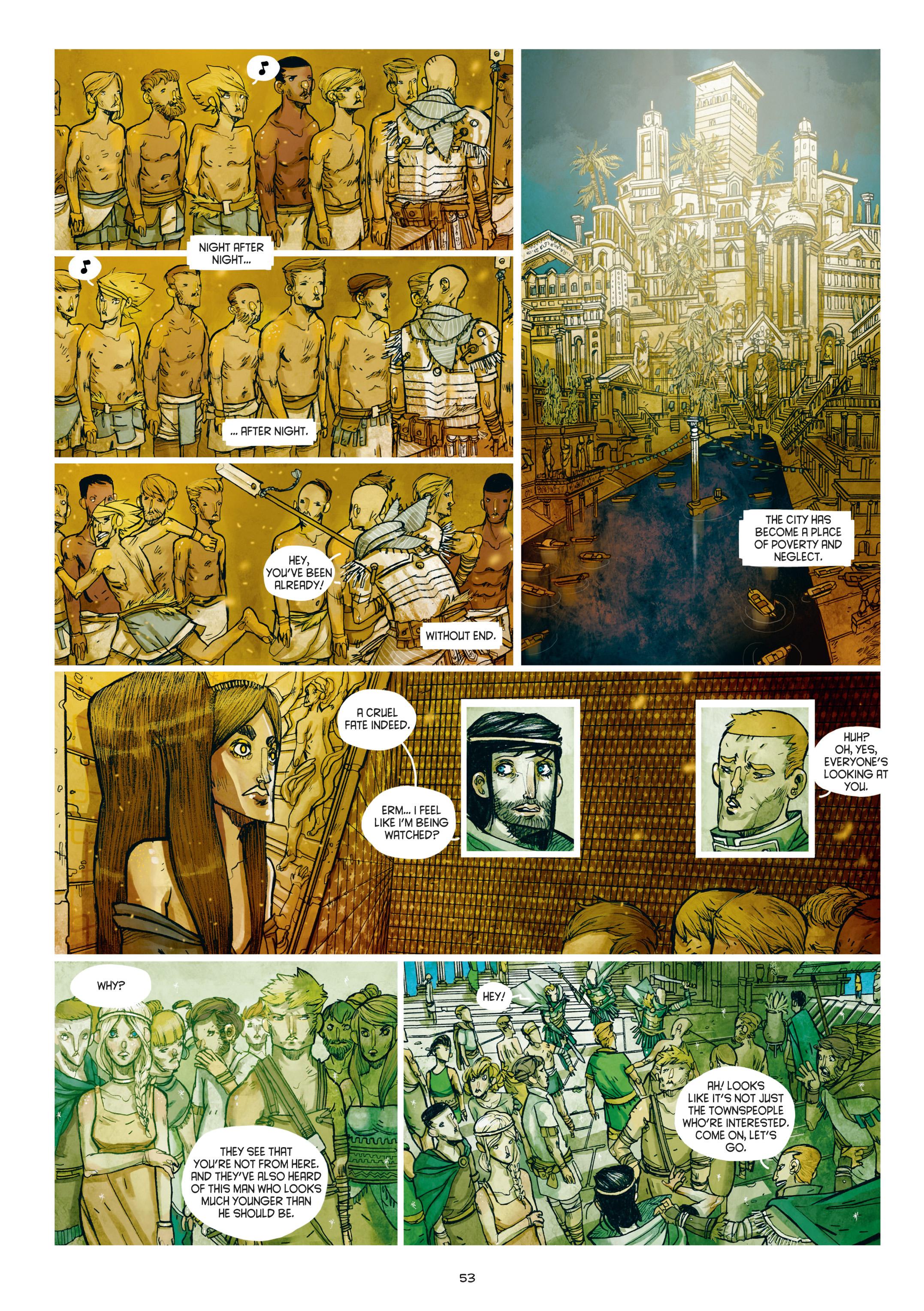 Read online Adrastée comic -  Issue #1 - 54