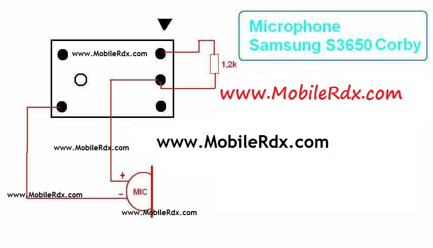 Samsung S3650 Corby Mic Solution