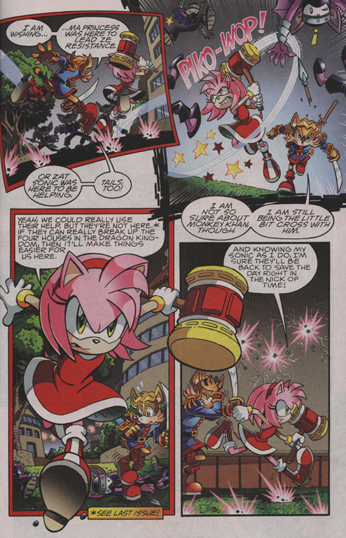 Read online Sonic The Hedgehog comic -  Issue #210 - 4