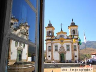 vista das igrejas, da Câmara