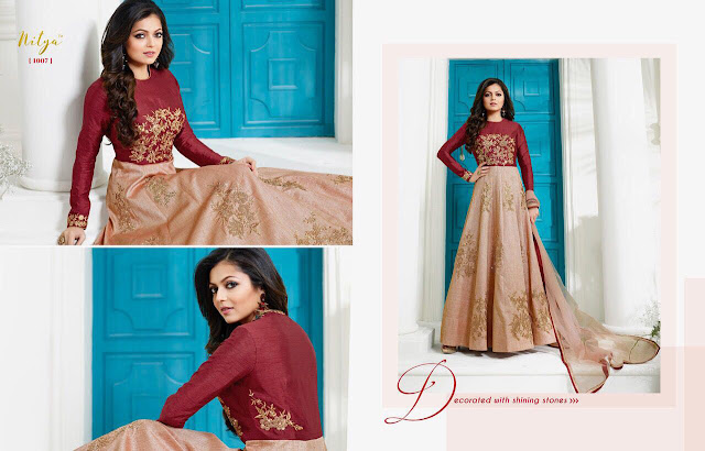 Indian Wedding Special Latest Designer Anarkali Salwar Suit Collection Online Shopping.