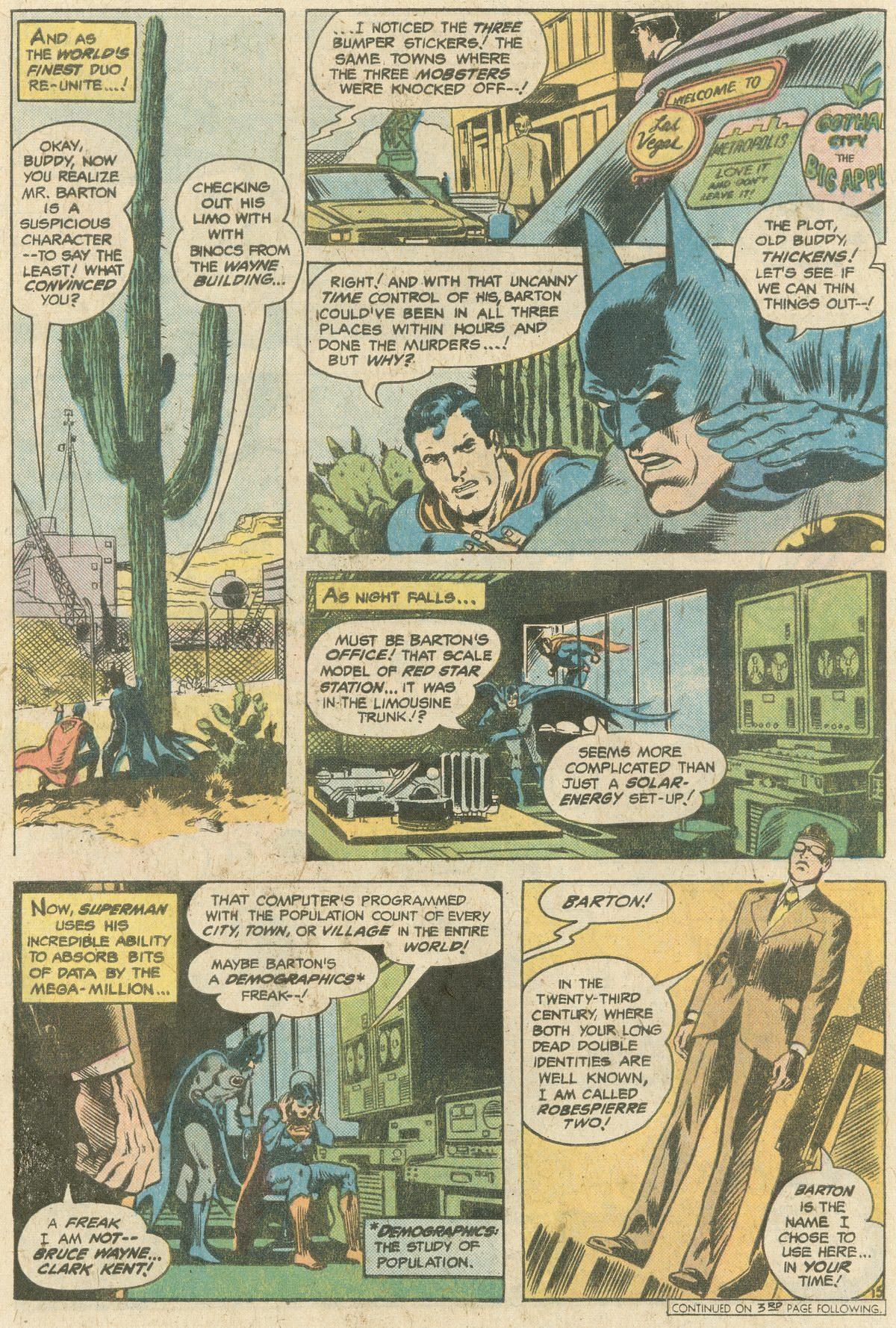 Read online World's Finest Comics comic -  Issue #244 - 20