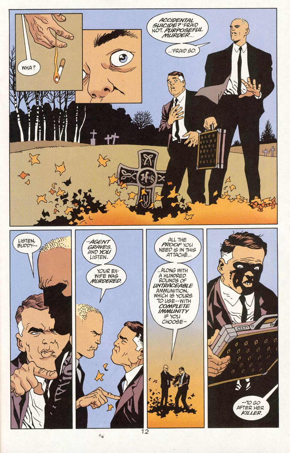 Read online 100 Bullets comic -  Issue #27 - 14