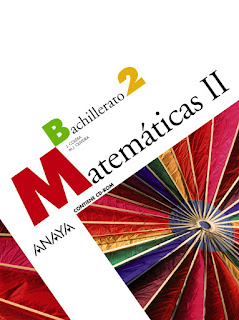 Libro Matemáticas II 2º Bachillerato Anaya