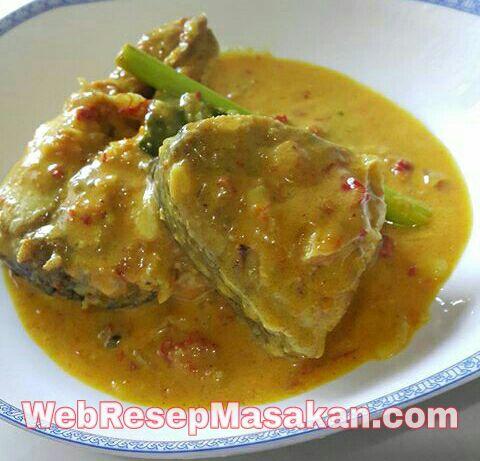 Gulai Ikan Tongkol Bumbu Kuning, resep gulai ikan tongkol bumbu kuning,