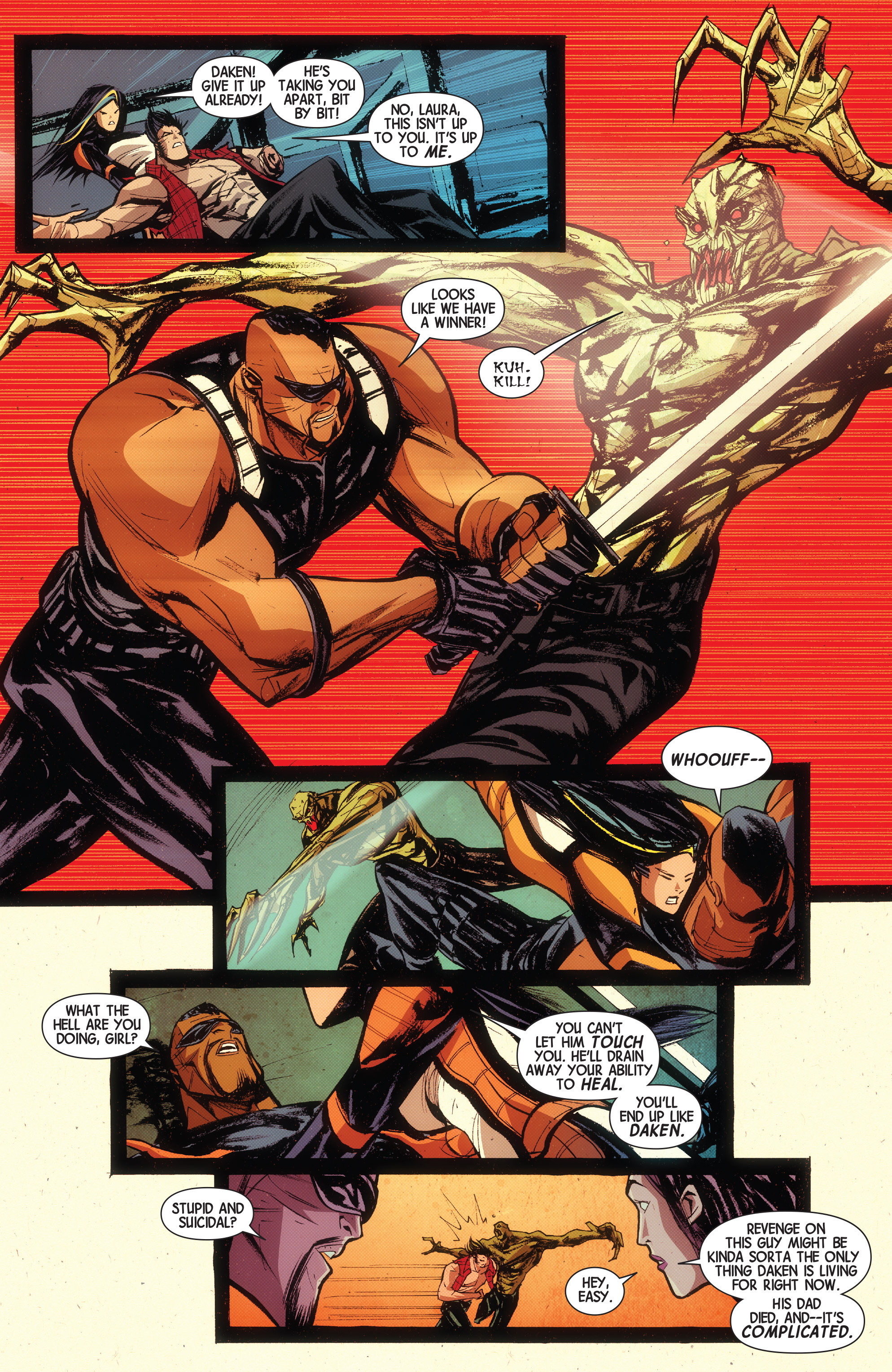 Read online Wolverines comic -  Issue #15 - 6