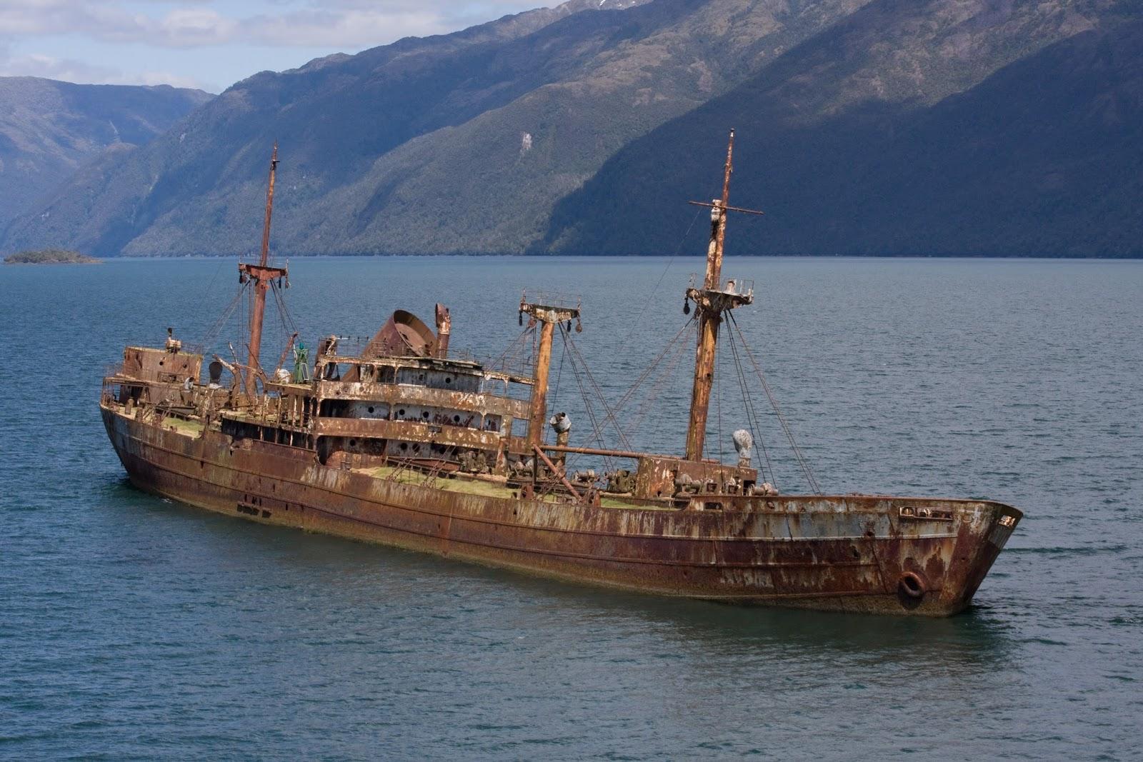 πλοίο που χάθηκε πριν 90 χρόνια και εμφανίστηκε  στο Τρίγωνο των Βερμούδων!