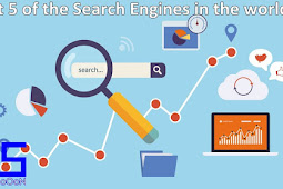 Best 5 of the Search Engines in the world