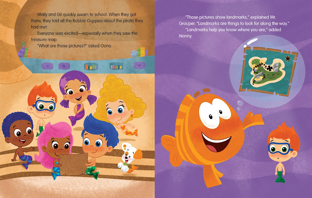 Bubble Guppies Pirate - Year of Clean Water