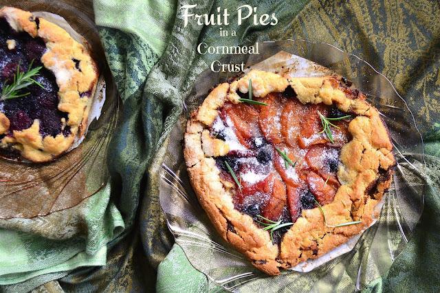 cornmeal crust fruit pies