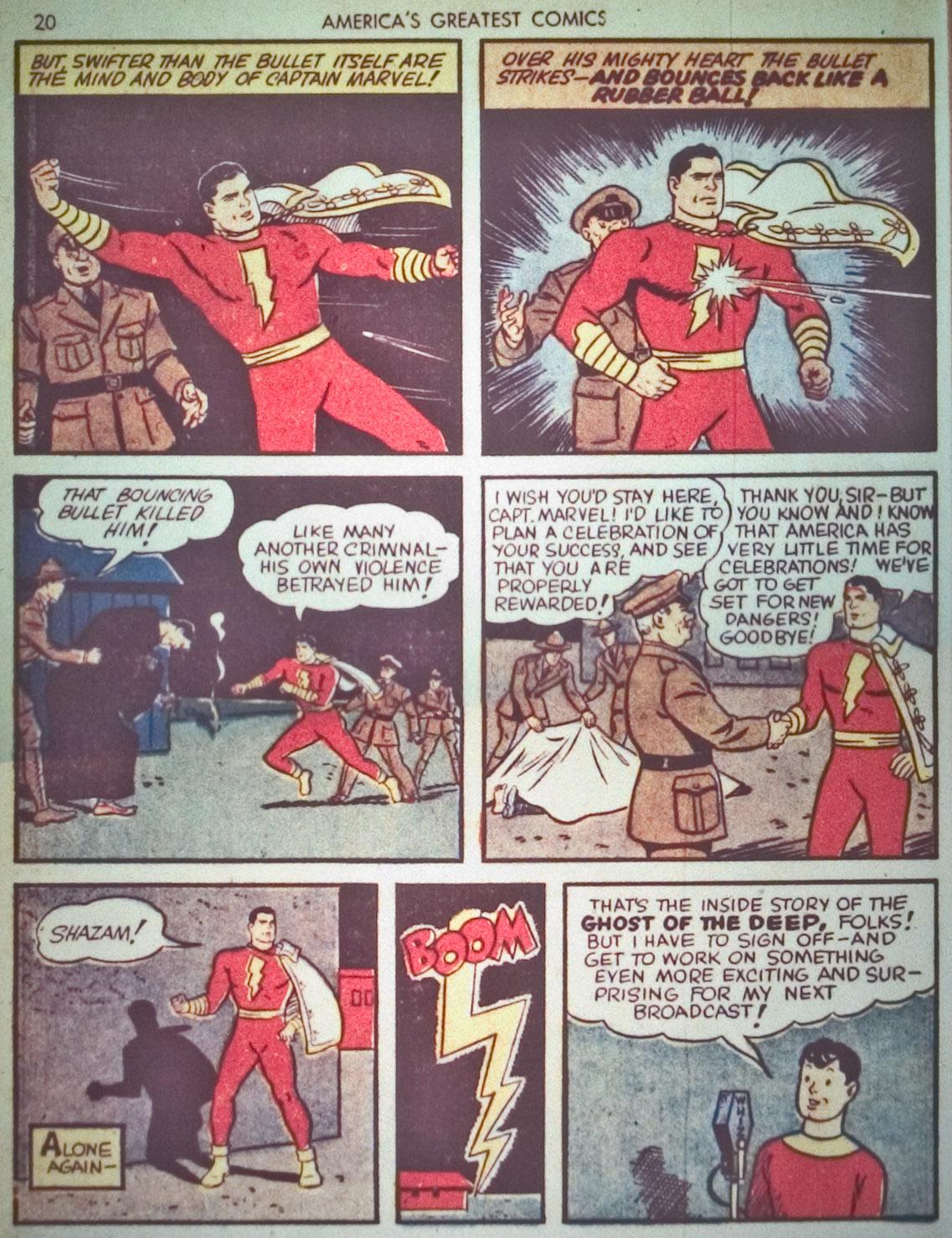 Read online America's Greatest Comics comic -  Issue #1 - 23