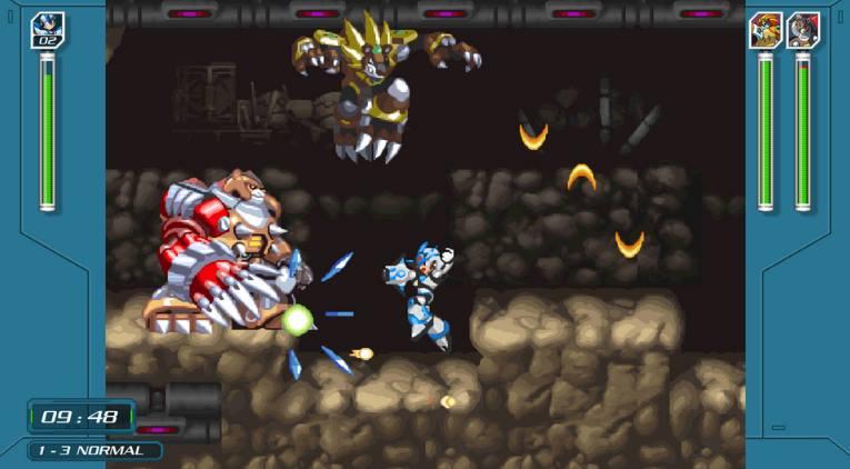 Mega Man X Legacy Collection 1 y 2 PC Full Español