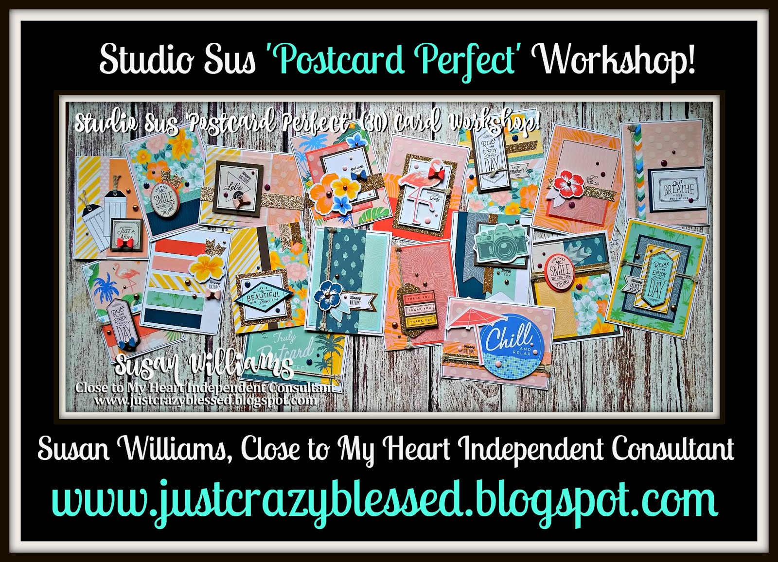 'Postcard Perfect' Cardmaking Workshop!