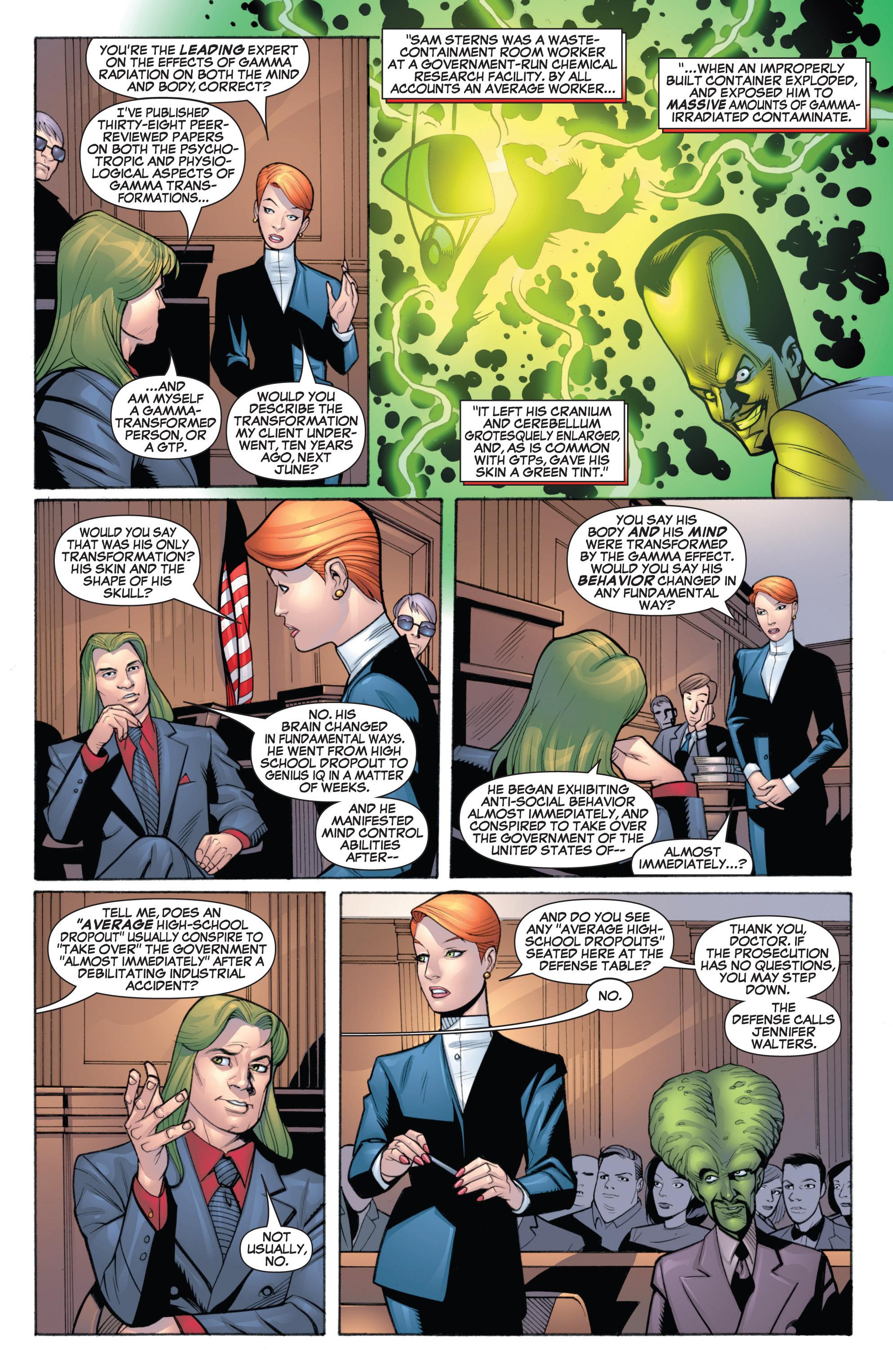 Read online She-Hulk (2005) comic -  Issue #19 - 12