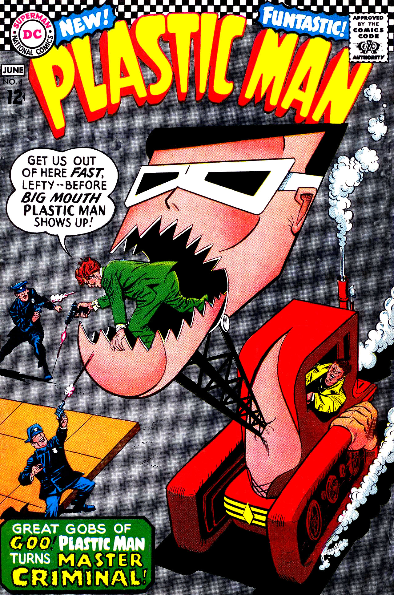 Plastic Man (1966) issue 4 - Page 1