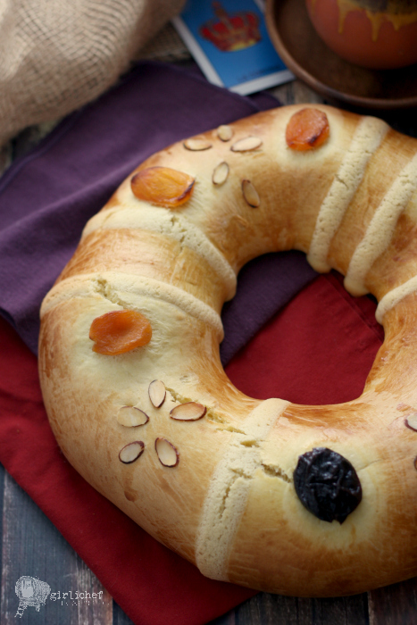 Rosca de Reyes (Three Kings Bread)