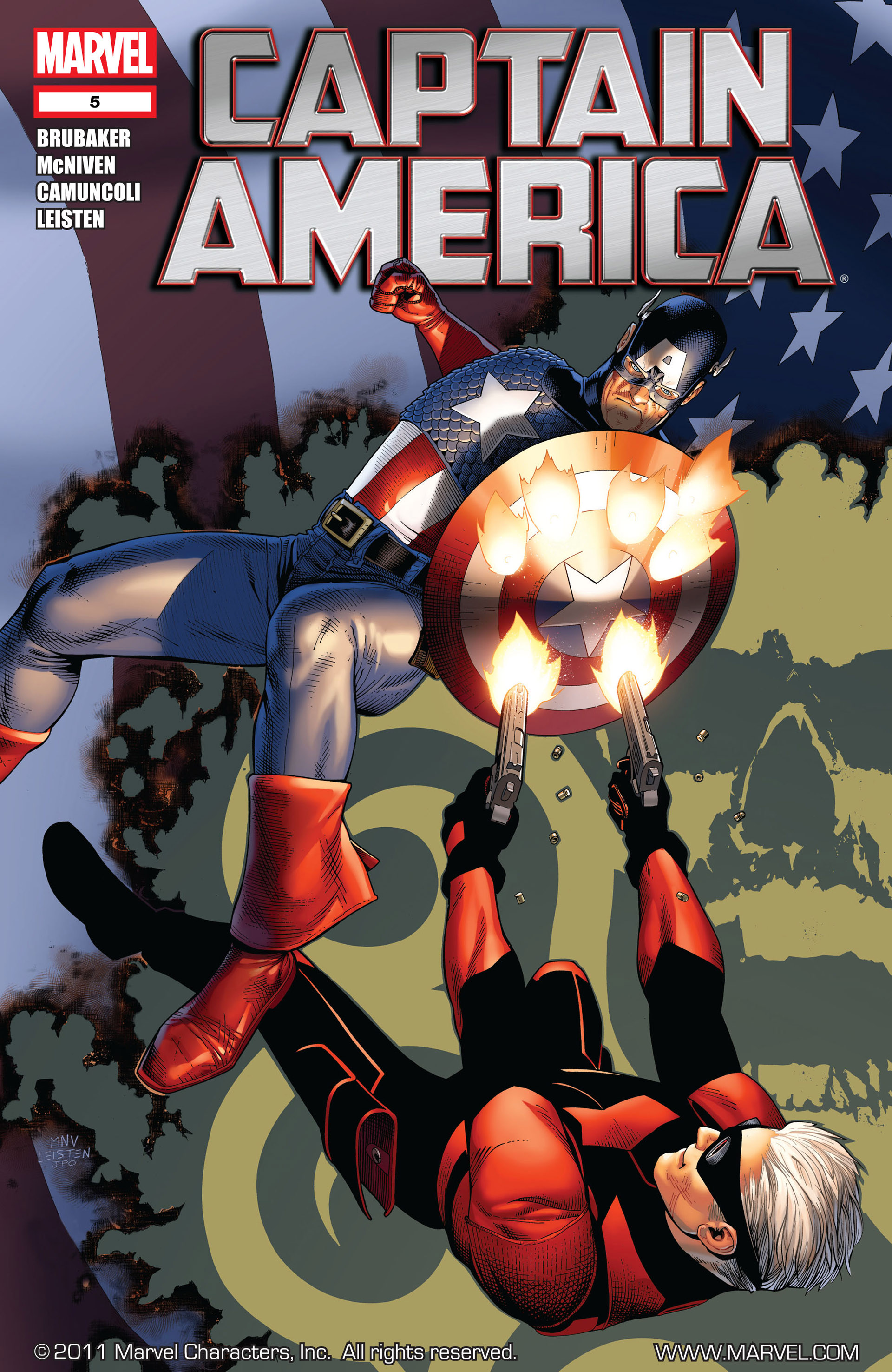 Captain America (2011) 5 Page 1