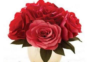 rosas de papel paso a paso - Como Hacer Rosas De Papel