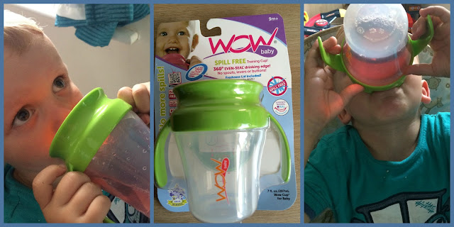 WOW non spill baby training cup
