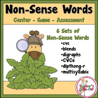 Non Sense Words using Games and Assessments