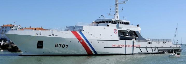 OCEA передала Філіппінам 84-метровий патрульний корабель