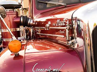 Mack B61 Thermodyne Diesel Passenger-side Hood Details