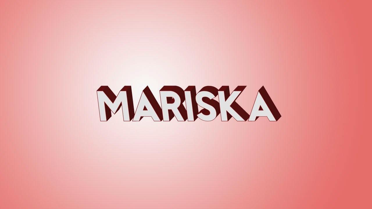 Cool Wallpaper Name Priyanka - mariska%2B3d%2Bname%2Blogo  Gallery_142187.jpg