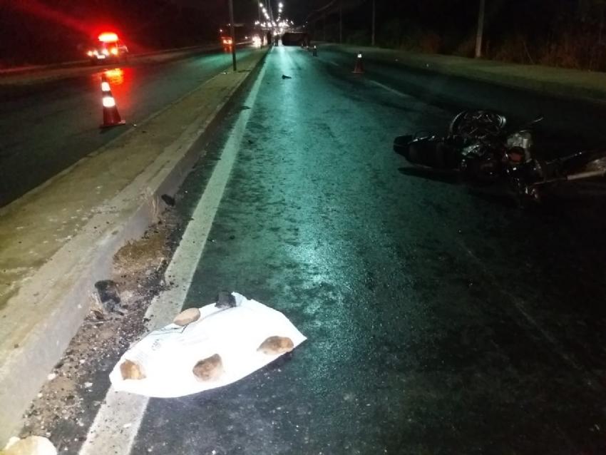 4b5ca1a5a2e MATO GROSSO  Motociclista tem perna arrancada e morre em acidente ...