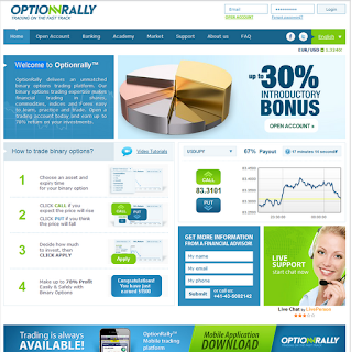 broker de opciones binarias OptionRally