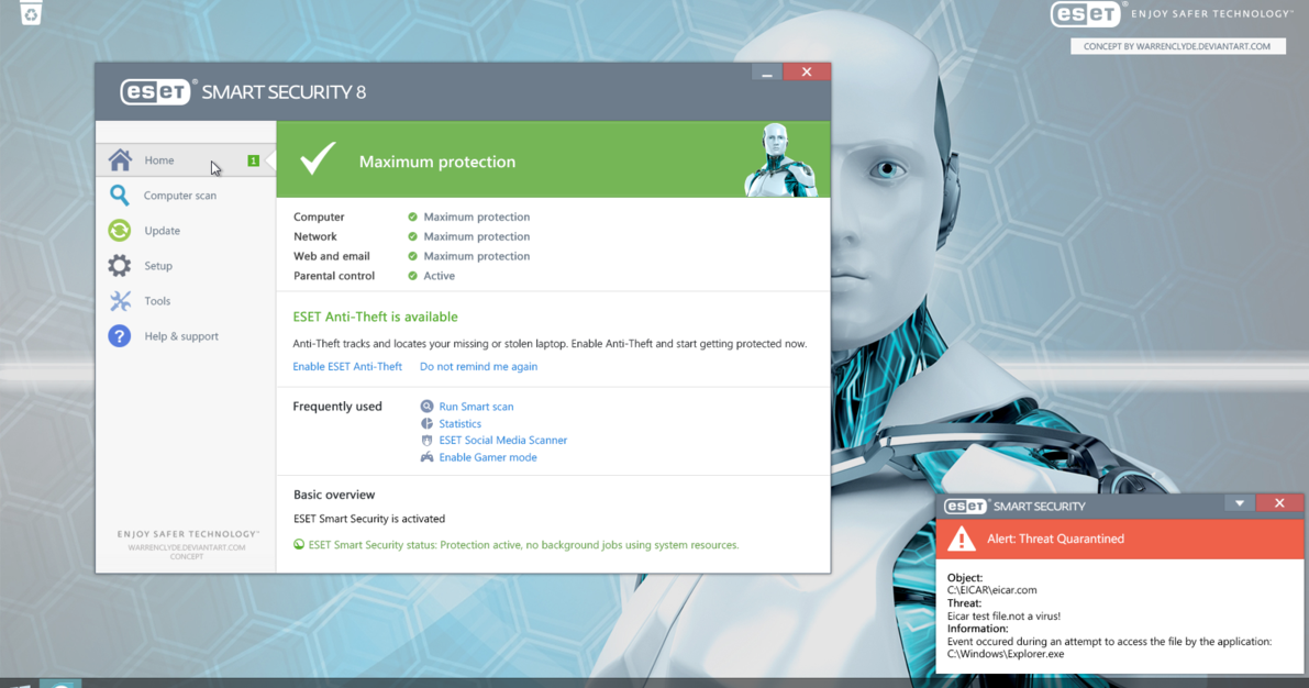 eset smart security 8 key username and password