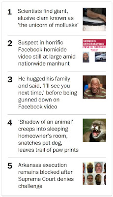 This article is an embarrassment to the Post. It s sensationalist fluff, from the picture of a snarling mountain lion and the dime-store novel title through the complete absence of useful information.