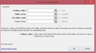 fungsi argument untuk rumus vlookup excel