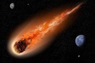 Gambar Benda langit komet