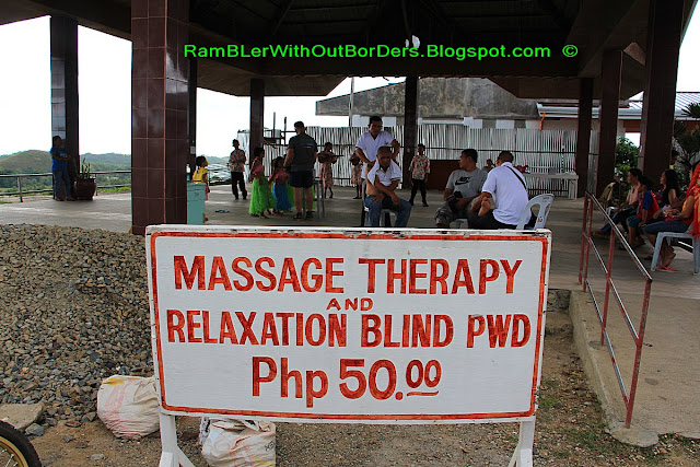 Massage therapy, Chocolate Hills, Bohol Island, Philippines