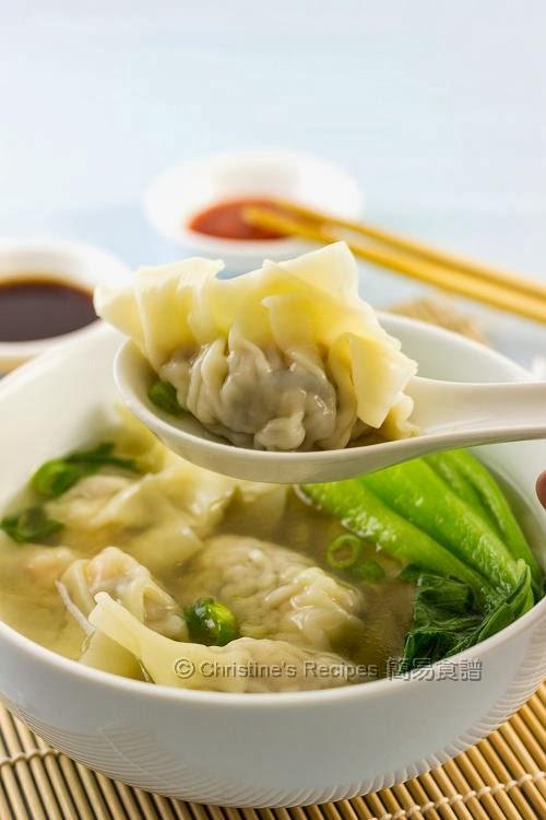 Chinese Dumpling Soup (上湯水餃)