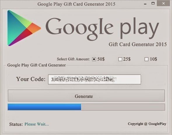 Google Play Card Generator