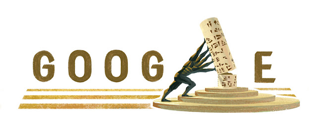 Mohammed Ghani Hikmat's 87th birthday - Google Doodle