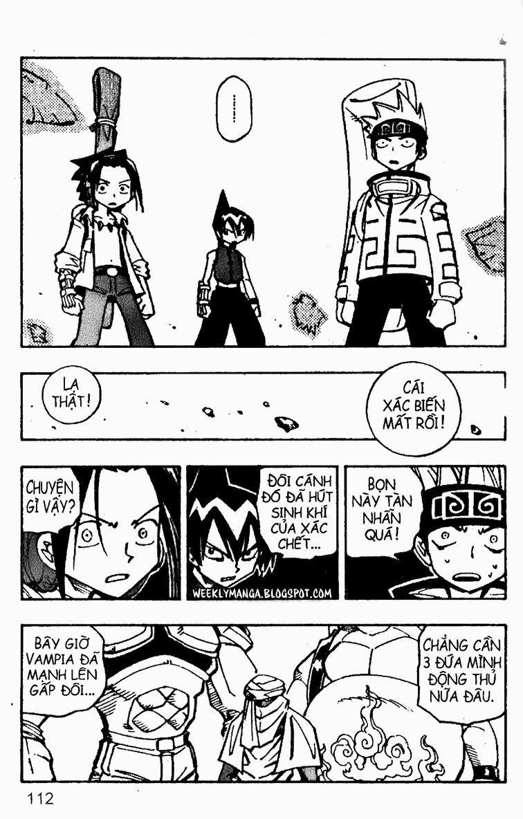 Shaman King [Vua pháp thuật] chap 96 trang 12