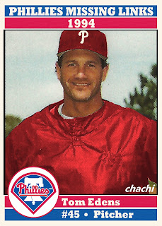 Phillies Missing Links of the 1990s – #6 Tom Edens
