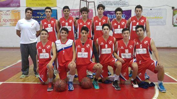 Debut en el provincial u19 basquet.