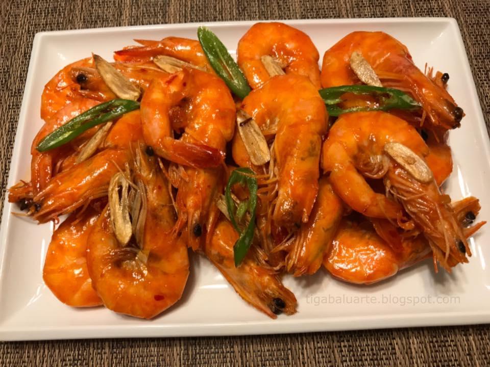 Spicy Chili Garlic Shrimp Recipe