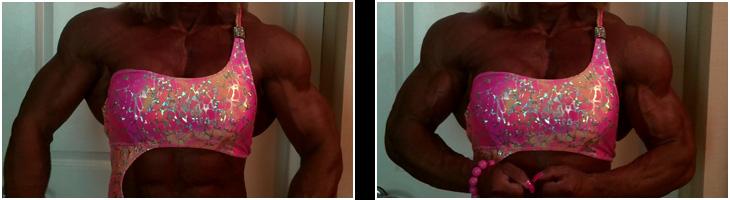 Female Bodybuilder Musclebound Michelle