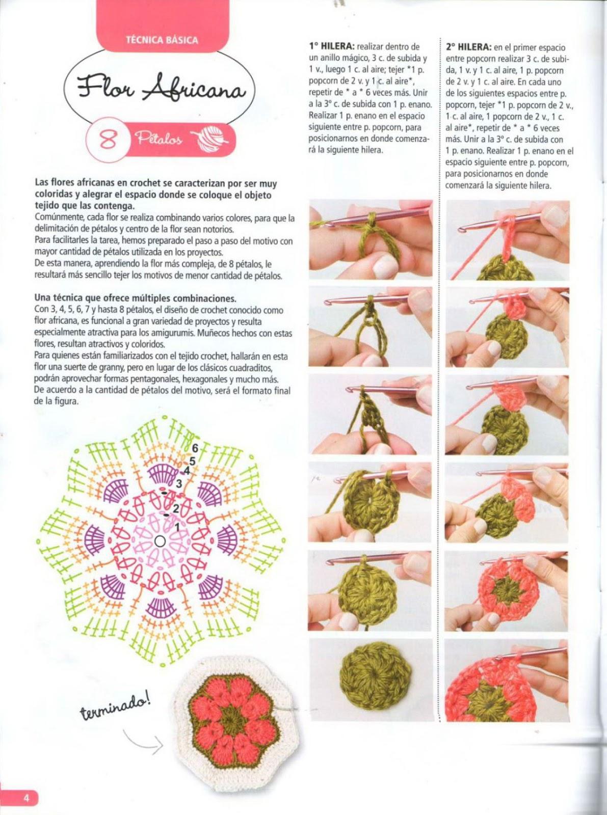 African Flower Amigurumi Free : Revista amigurumi 2016 - Revistas de crochet y tejidos gratis