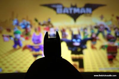 A day in London with the LEGO Batman Movie and Tartan Batman.
